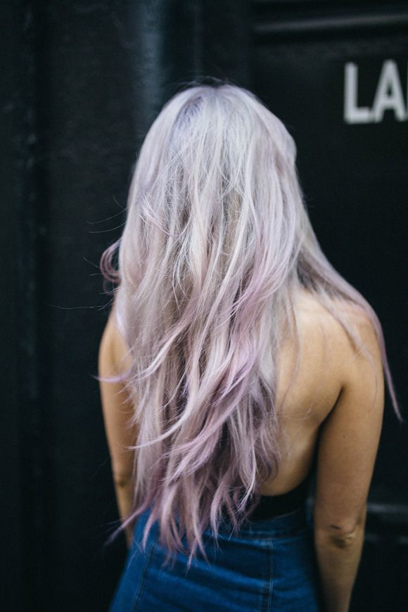 Post image for Suite Caroline Salon x Free People: Lavender Locks With Sparks Hair Color