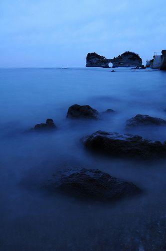 円月島 Engetsu Island