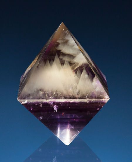 POLISHED FLUORITE OCTAHEDRON Cave-in-Rock, Illinois-Kentucky Fluorspar District, Hardin Co., Illinois, USA