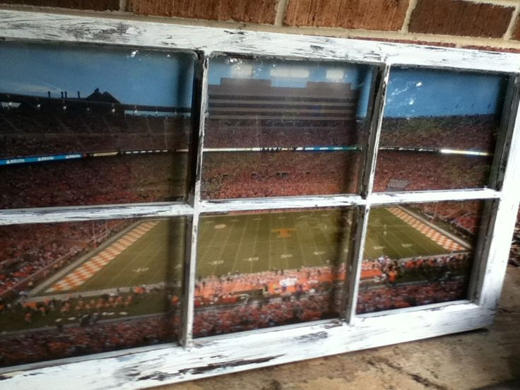 University of Tennessee Football Field Window by WindowsbyLauren on Etsy https://www.etsy.com/listing/108303069/university-of-tennessee-football-field