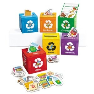 I love this Recycling Learning Center from Lakeshore Learning Materials