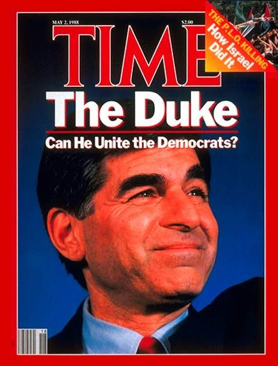 TIME Magazine Cover: Michael Dukakis - May 2, 1988 - Michael ...