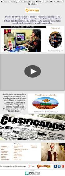 Empleo De Ensueño Con Múltiples Listas Clasificados Empleo   Piktochart Infographic Editor