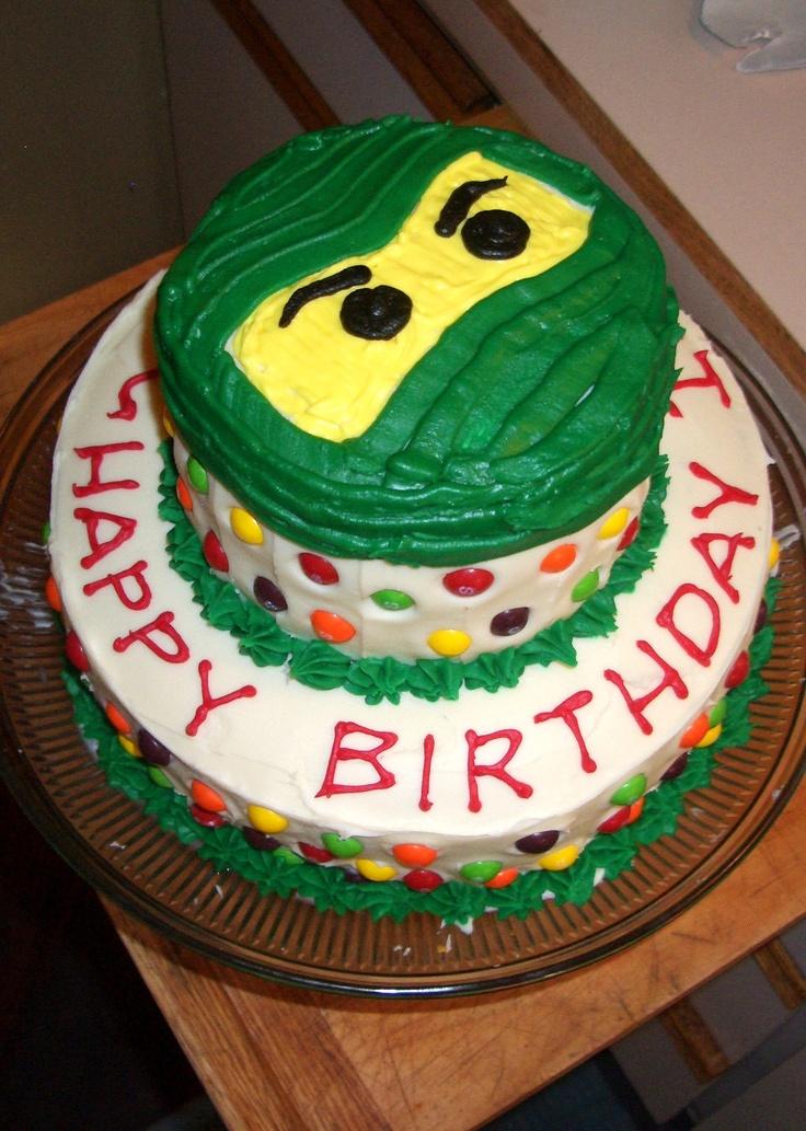 Ninja Cake Decorations