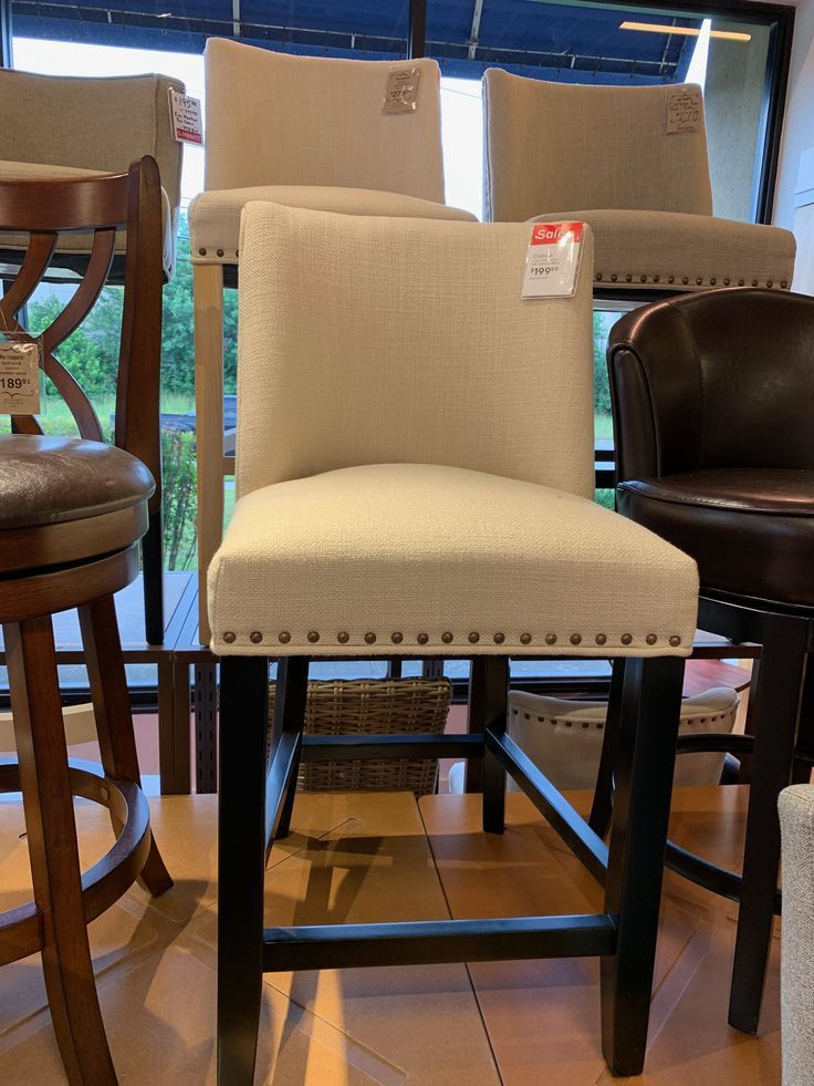 Pier one Corinne counter chair $199.99 on sale – #…