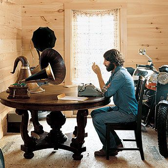 ray lamontagne...I want him to type and play the harmonica in my living room