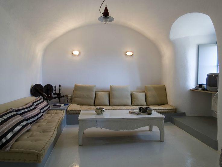 Living Room at Villa Ariadni in Kithyra; http://instylevillas.net/property/ariadni-villla-kythira/