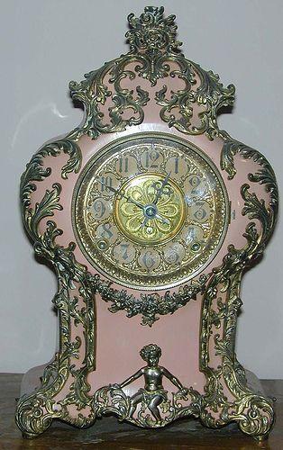 Marie Antoinette's clock at Versailles...