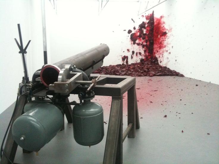 Anish Kapoor - Shooting into the Corner