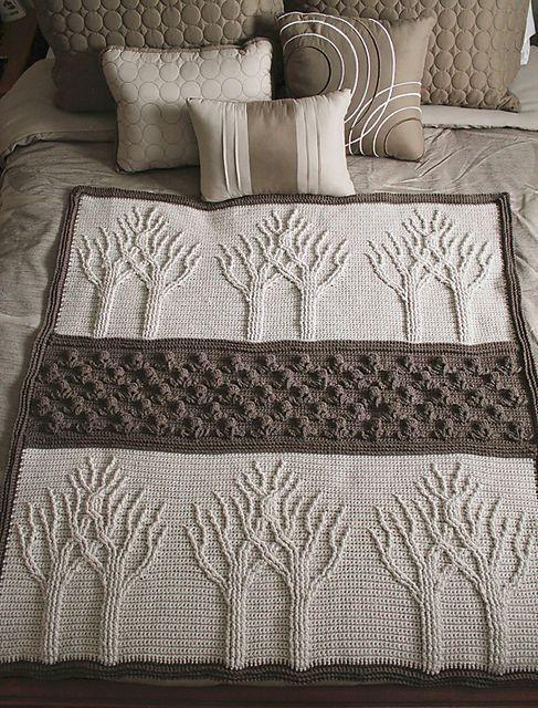 Tree Of Life Crochet Afghan Is A Fabulous Free Pattern