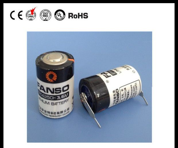 ER14250 1/2AA Size equal to LS14250 1200mAh for Electricity Meters and Dog Tracker