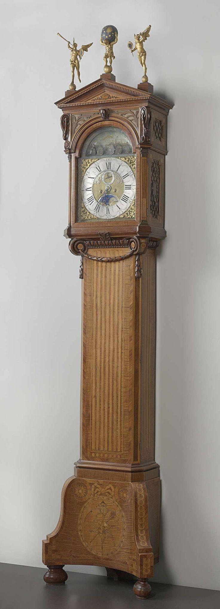 Staande klok, Pieter van den Bergh, ca. 1780