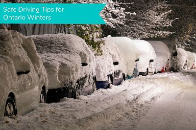 OH NOOOOO!  Winter driving will soon be here!  Let's keep our Roads Safe with these Tips...