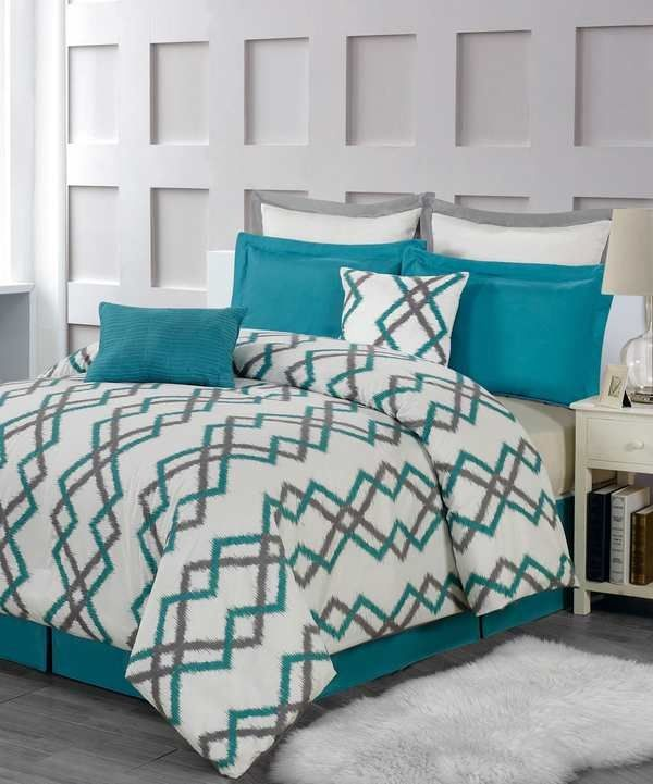 25 Best Ideas About Grey Teal Bedrooms On Pinterest: 25+ Best Ideas About Teal And Gray Bedding On Pinterest