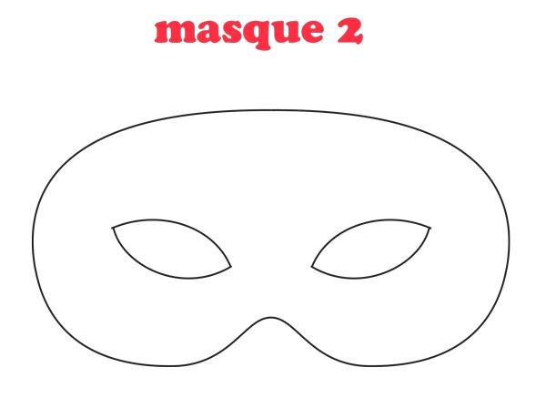 5 masques à télécharger pour Mardi Gras ou le Carnaval