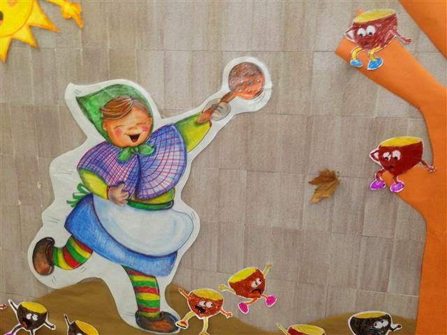 Castanyera Material: Paper, tisores, colors Nivell: Infantil 2014/15