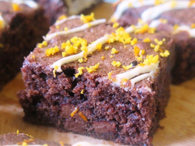 Gooey and zingy Terry's Chocolate Orange Brownies recipe shared on ...