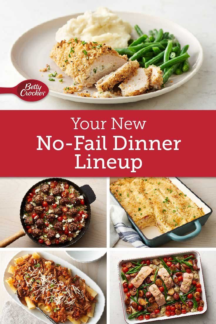 Your New No Fail Dinner Lineup In 2020 Food Recipes Cooking
