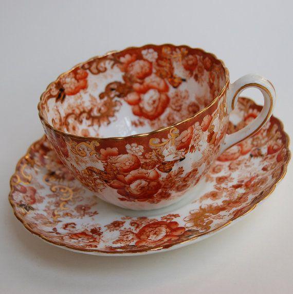Vintage Fenton Radfords Victorian Tea Cup and by GrandmasTopDrawer