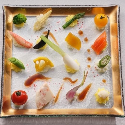 like an art. wedding cuisine at HATSUNEYA.