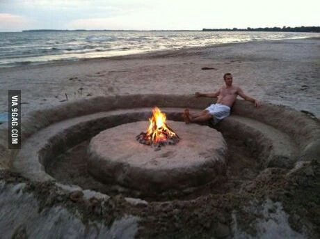 Summer Beach Party Fire Pit In Style When We Have A On The Need To Do It Right Could Get This Done No Time