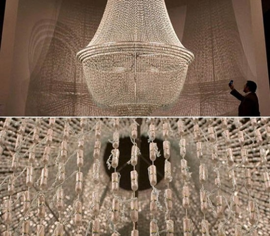 tampon chandelier
