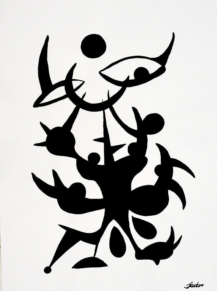 Rafal Michal Szaton, Zadza (2014)   #painting #art #artmarket #limitededition #artistoftheday #fineart #buyart #popart #polishart #pinmorales #desire #black&white