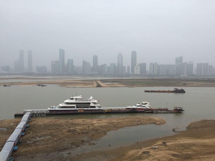 Nanchang city seen from Tengwang Pavilion.