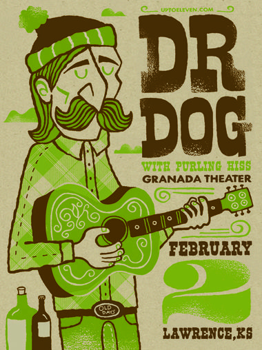 Dr Dog - posters - store - tad carpenter