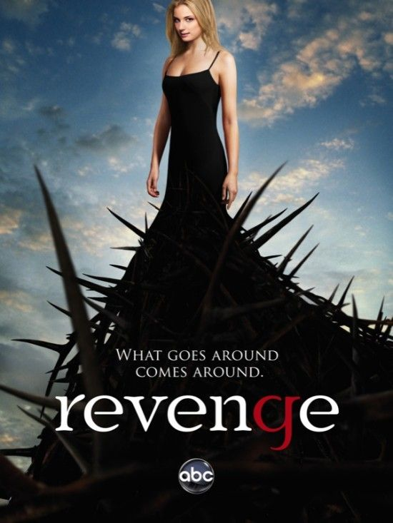 Revenge tells you about a girl named Amanda Clarke whose father betrayed by his trusted ones including his lover.    The set is in the Hamptons, most expensive residential properties in US, which is awesome.     All the dresses Emily van Camp wore is rad!     Aging is a myth, for Victoria Grayson (played by Madeleine Stowe) looks amazingly stunning for a 50 y.o woman.     Revenge has never been this super sweet!