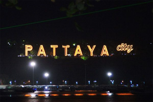 Lights of Pattaya City