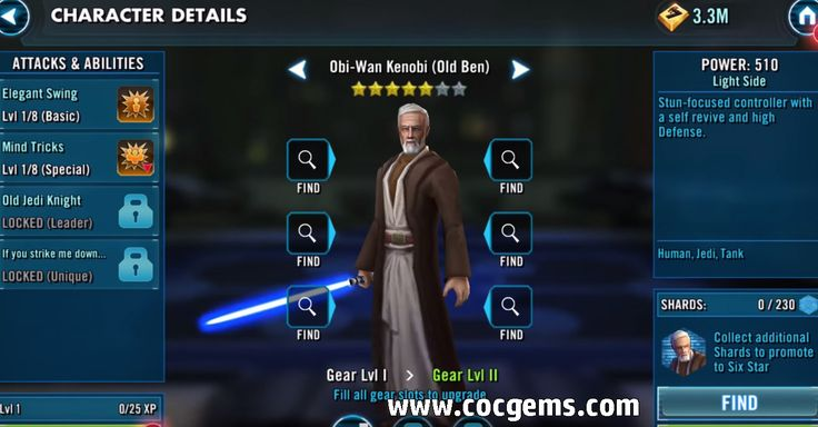 Star Wars: Galaxy of Heroes Crystals for sale   3 Must-Have Characters