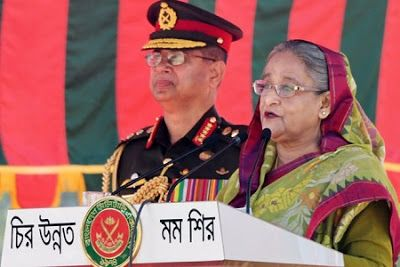 Prime Minister Sheikh Hasina has returned home after her three-day visit to Cambodia
