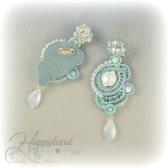 Colazione da ... soutache earrings pattern