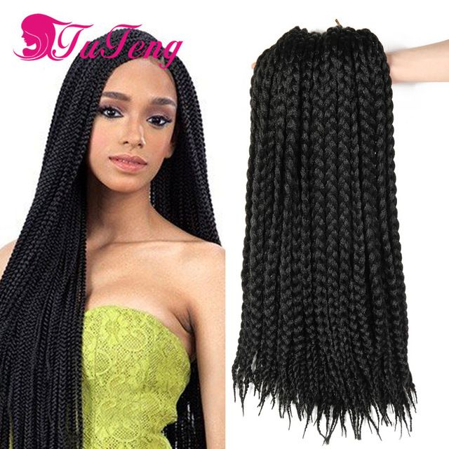 Box Braids Crochet Braids Ombre Xpression Braiding Hair 12