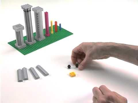 LEGO® Creator Designer Tips -- How to build columns part 1 (also a part 2) These techniques can work for the art deco buildings as well.