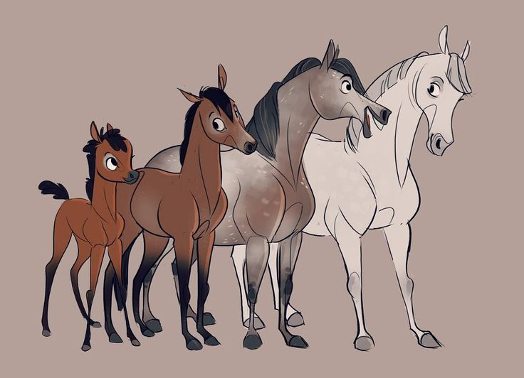 The greying process! #horse #horsedrawing #goinggrey #grey #characterdesign