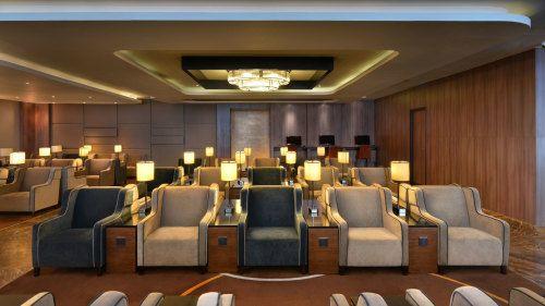 Lounge area at Rajiv Gandhi International Airport Lounge