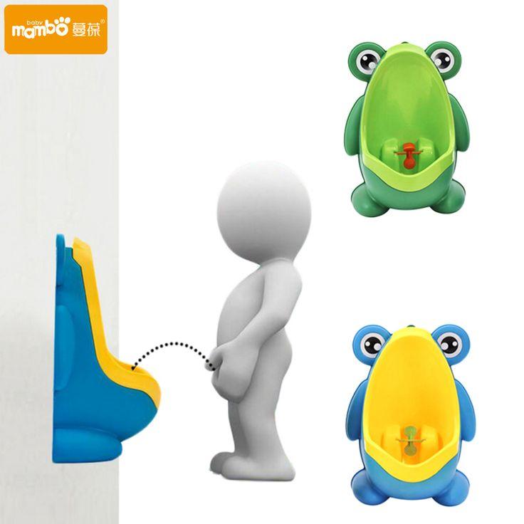Frog Children Potty Toilet Training Kids Urinal for Boys Pee Trainer Bathroom potties baby
