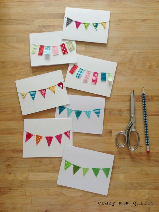 129 :: bunting cards