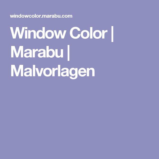 window color  marabu  malvorlagen  malvorlagen