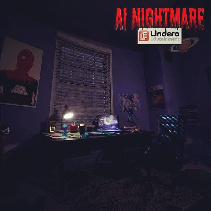 We know we left our keys here somewhere... ❓🤔❓ Be sure to check out our first VR movie, AI Nightmare, coming soon to Steam VR • • #ScreenshotSaturday #ScreenshotSaturdays #ScreenshotSunday #AINightmare #VirtualReality #movie #ArtificialIntelligence #SciFi #bedroom #geek #nerd #home #house #mydesk #homelife #lostmykeys #secrets #starwars #space #planets #CGI #indie #indiedev #tech #animation #animated #indiemade #VR #vrmovie #linderoedutainment