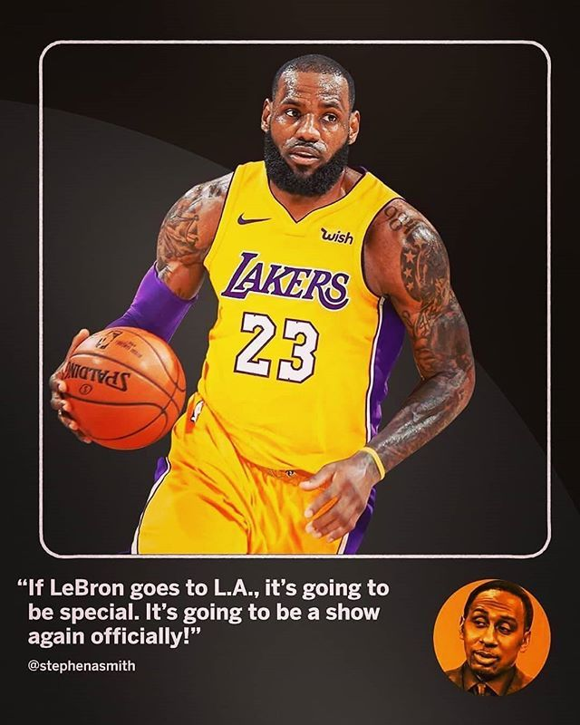 I m a Lakers fan for the next 4 yrs. They have a bonafide super star now  and others will come to play with him. cd9f485f4