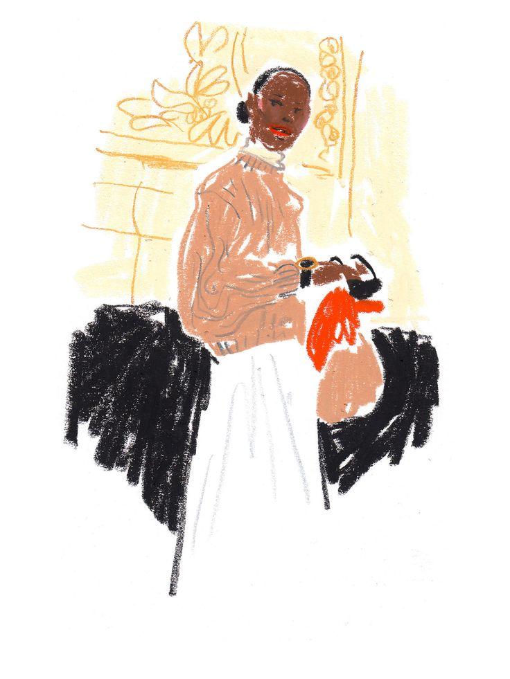 Artist Damien Cuypers at Illustration Division