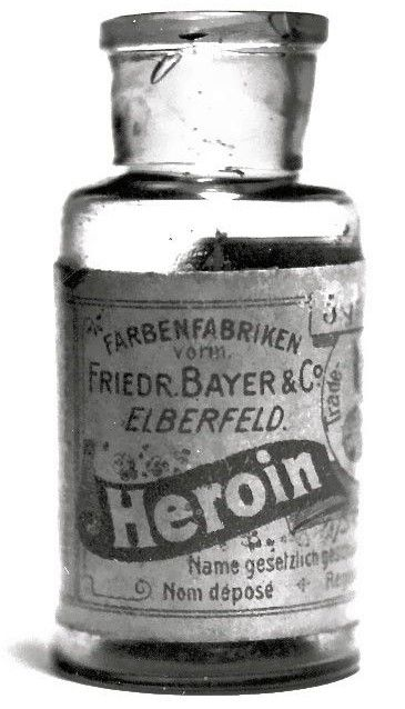Heroin- perhaps had it been left legal and used by doctors we wouldn't have lost so many to the illegal form. Possibly another conspiracy for population control. Just saying.