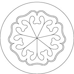 Rhythm ~ Friday: Venus ~ The seven planetary seals are images drawn by Rudolf Steiner