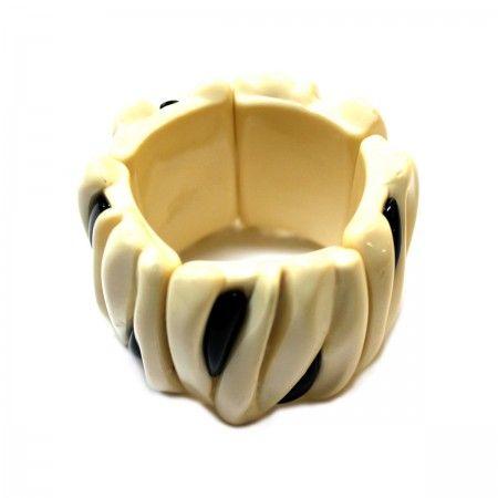 Lacrom - Sharra Pagano - Bracelet Bracelet in resin with internal elastic.