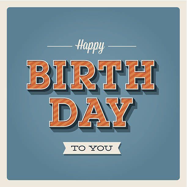Carte de joyeux anniversaire - Illustration vectorielle