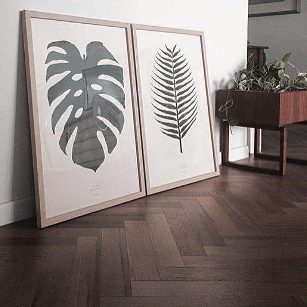Botanic print // Monstera poster // Interior // Design // Scandinavian styling