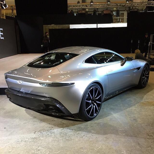 Aston Martin DB10 Debuts for James Bond 007 Spectre Movie http://www.automotiveaddicts.com/49802/aston-martin-db10-debuts-for-james-bond-007-spectre-movie